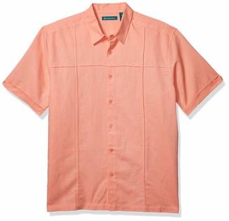 Cubavera Men's Cross Pintuck Shirt
