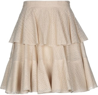 Alexander McQueen Knee length skirts