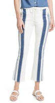 Frame Le Crop Mini Boot Baja Stripe Jeans