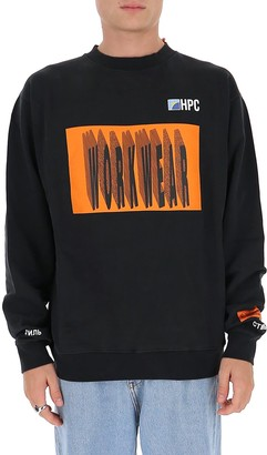 Heron Preston Workwear Printed Sweatshirt