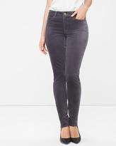 White House Black Market Curvy Velvet Skimmer Jeans