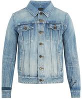 Saint Laurent Distressed denim jacket
