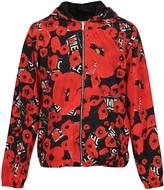 Les Hommes Poppy Print Lightweight Jacket