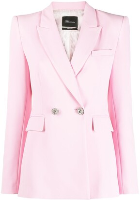 Blumarine Double-Breasted Blazer