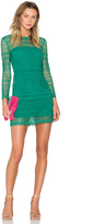 Cynthia Rowley Patchwork Lace Shift Dress