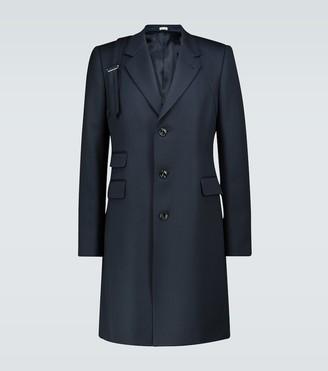 Alexander McQueen Long twill trench coat