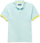 Vilebrequin Palatin Contrast-Tipped Cotton-Piqué Polo Shirt