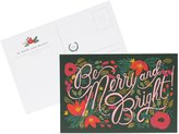 Rifle Paper Co. Be Merry and Bright Postcards, Set of 10