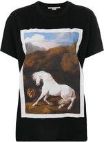 Stella McCartney horse print T-shirt