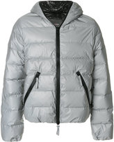 Hydrogen hooded padded jacket