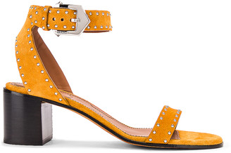 Givenchy Elegant Stud Sandals in Sienna | FWRD