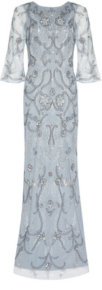 Aidan Mattox Fully Beaded Gown