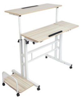 Mind Reader Xl Roll Stand Desk