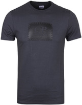 Cp Company Charcoal Grey Stamp Print T-shirt
