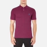 Polo Ralph Lauren Men's Short Sleeve Slim Fit Polo Shirt New Cranberry