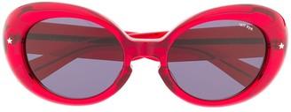 TAKAHIROMIYASHITA TheSoloist. Round Frame Sunglasses
