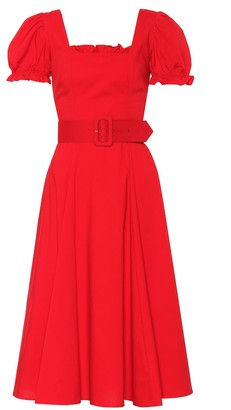 STAUD Maryann cotton dress