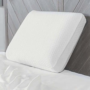 Sensorpedic Soft-Tex Luxury Extraordinaire Gusseted King Memory Foam Bed Pillow