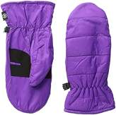Isotoner Women's Quilted Nylon Mitten with Warm Touch Lining