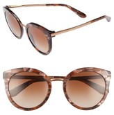 Dolce & Gabbana Women's 52Mm Round Sunglasses - Bronze