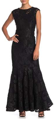 Marina Long Slim Lace Dress