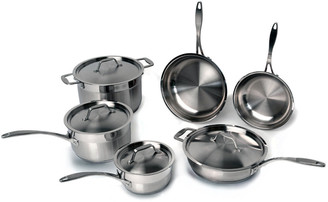 Berghoff Earthchef Professional 18/10 Stainless Steel 10Pc Cookware Set