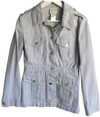 Celine Blue Cotton Jackets