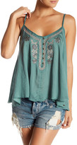 O'Neill Casey Metallic Embroidered Tank