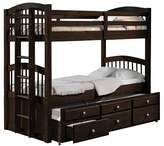 Acme Micah Kids Bunk Bed - Epsresso(Twin/Twin)