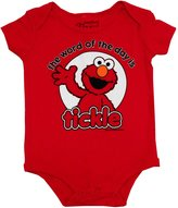 Mini Fine Sesame Street Elmo Word Of The Day Cartoon Baby Creeper Romper Snapsuit
