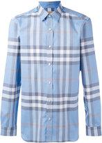 Burberry check shirt - men - Cotton - S