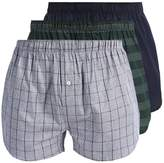 Lacoste 3 Pack Boxer Shorts Dark Blue/green/blue Grey