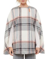 Ted Baker Fotina Oversize Checked Cape
