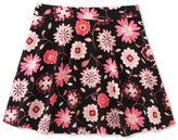 Kate Spade Floral-Print Skater Skirt, Size 2-6