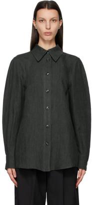 Low Classic Green Linen Shirt