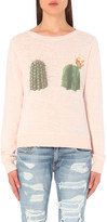 Wildfox Couture Don't Touch fleece sweatshirt