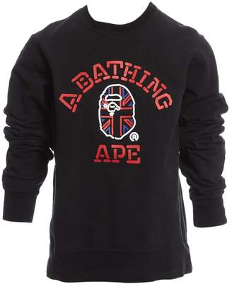 A Bathing Ape Black Cotton Knitwear