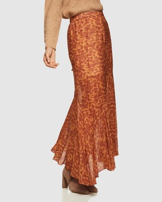 Oxford Sally Animal Print Skirt