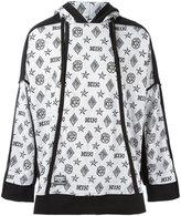 Kokon To Zai monogram hoodie - unisex - Cotton - XS