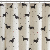 Asstd National Brand HipStyle Hannah Cotton Printed Shower Curtain