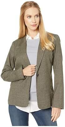 Kensie Tweed Plaid Blazer KS0K2381