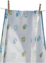 Angel Dear Muslin Nap Blanket, Blue Owl by