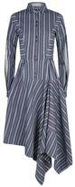Palmer Harding Palmer//harding Asymmetric Striped Sliced Sleeve Shirt