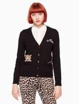 Kate Spade leopard cardigan