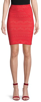 BCBGMAXAZRIA Alexa Knit Pencil Skirt