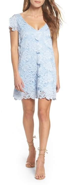 Blue Lace Shift Dresses Shopstyle