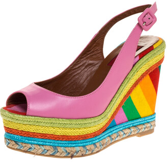 Multicolor Wedges   Shop the world's