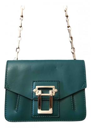 Proenza Schouler Hava Turquoise Leather Handbags