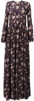 Rochas floral print maxi dress