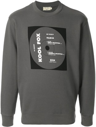 MAISON KITSUNÉ Record Print Sweatshirt